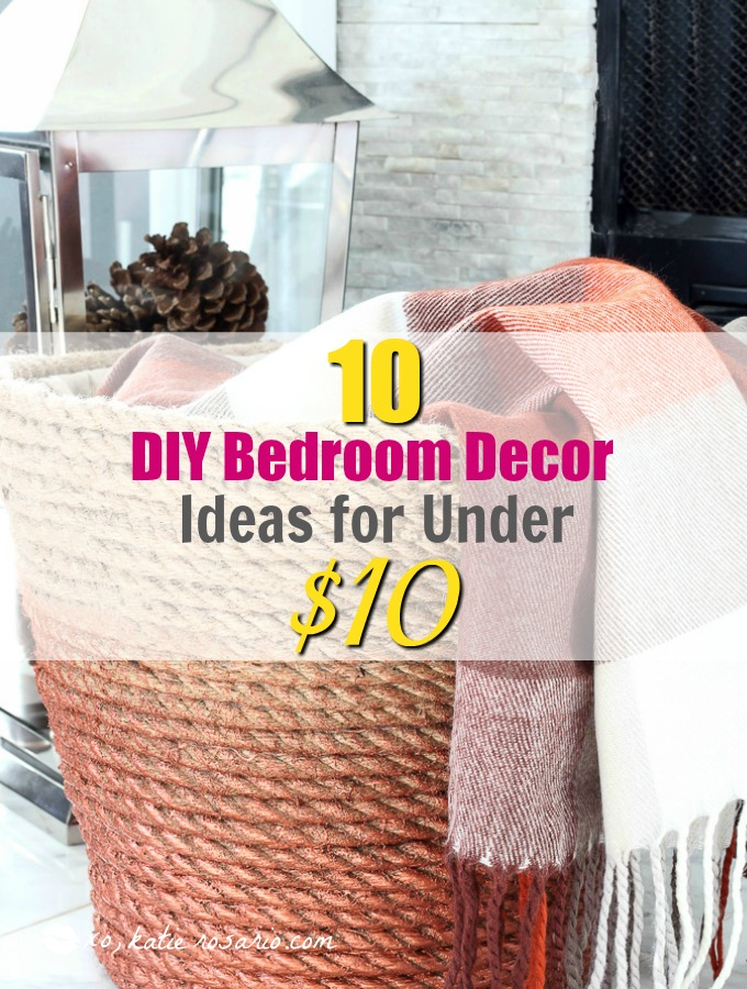 10 things under 10 you need in your bedroom xo katie for Room decor under 10