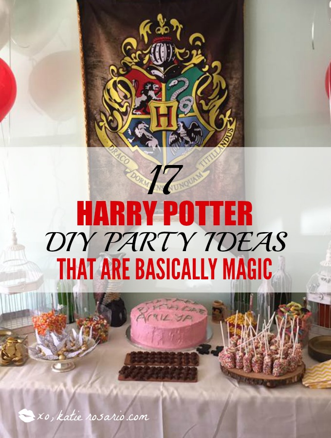 harry potter party ideas crafts 17 harry potter diy ideas that are basically magic 6695