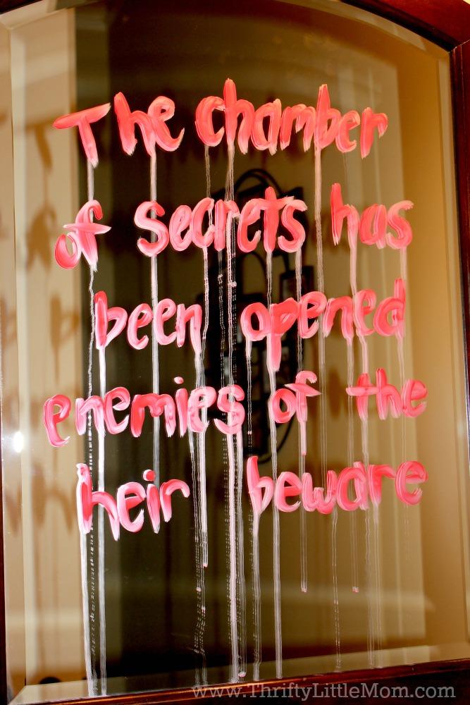 Chamber Of Secrets Mirror Decoration Xo Katie Rosario